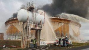 Incendie à la Sonara, située dans la périphérie de Limbé, la ville balnéaire de la Région du Sud-Ouest.
