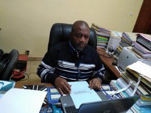 Fankam Djoumessi Louis Roger, délégué Minépat-Ouest. . Photo: Africa24monde